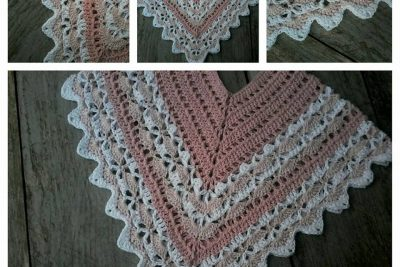 Gratis Patroon – Mini Mara Rose Poncho haken